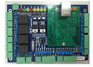 L04b Tcp ip Network Access Control Board Panel Controller For 4 Door Rfid Reader