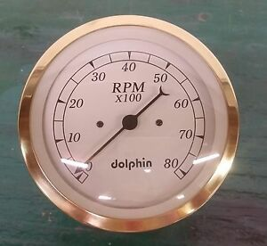 Dolphin 5 Gold Tachometer