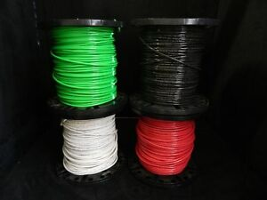 6 Gauge Thhn Wire Stranded 4 Colors 10 Ft Each Thwn 600v Copper Cable Awg