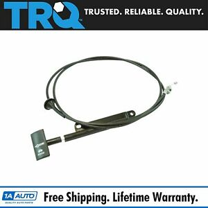 Trq Hood Release Latch Cable And Pull Handle For 94 04 Ford Mustang New