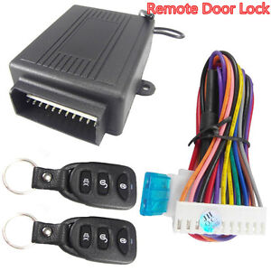 Car Suv Door Lock Locking Remote Control Central Kit Keyless Entry Safety System