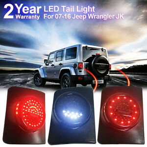 Firebug Jeep Wrangler Led Tail Light Jeep Jk Rear Led Lights Jku Brake Lights