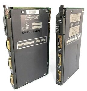 Lot Of 2 Allen Bradley 1771 ka2 Communication Adapter Modules Series A Rev G