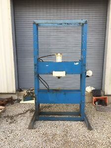 Otc 50 Ton Hydraulic H Frame Shop Press Manual Hand Pump