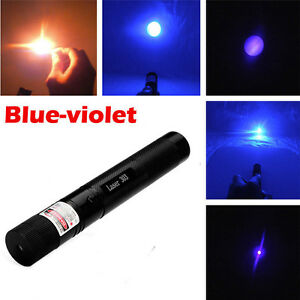 5pcs High Power Purple Laser Pointer Pen 5mw 405nm Beam Lazer Burning