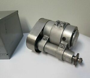 Themac Precision Grinder Model J7 Lathe Tool Post Grinder 7500 Rpm With Case