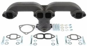 Jegs Performance Products 30110 Rams Horn Style Exhaust Manifolds Fits Most Roun