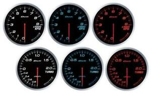 Defi Df09902 Link Meter Advance Bf Turbo Gauge Red 60mm