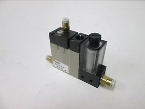 Smc Nzx1102 k6 f Vacuum Module Ejector 5 32 Tubing Connections 4mm