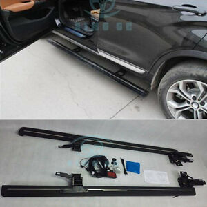 For Bmw X4 F26 2014 2015 Electric Running Board Side Step Nerf Bar Welcome Pedal