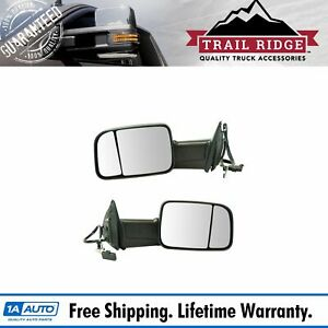 Trail Ridge Tow Mirror Upgrade Power Folding Heated Signal Temp Pair For Ram
