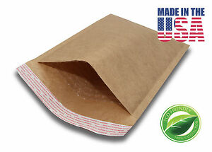 500 00 5x10 Brown Kraft Bubble Mailers Padded Envelopes 5 x10