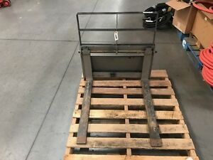 Skid Steer Pallet Forks For Multiple Mfg s