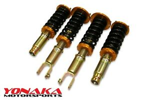 Yonaka Honda Accord 90 93 94 97 Spec 1 Coilovers Suspension Coupe Sedan Wagon