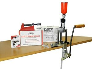 Lee Precision Reloading Value 4 Hole Turret Press Reloading Kit 90928