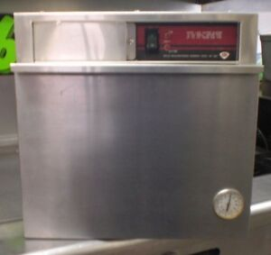 Wells Electric Food Warmer Single Drawer Heated Counter Top Hot Holding Cabinet
