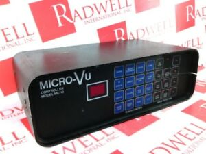 Micro Vu Corp Mc 10 used Cleaned Tested 2 Year Warranty