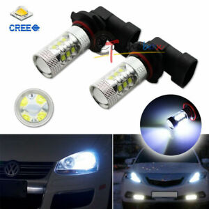 2pcs 8k Blue Hid Color 9006 Hb4 16 cree Led Bulbs For Car Fog Drl Daytime Lights