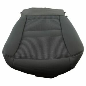 Oem 1fm411d5aa Seat Bottom Cushion Cover Gray Driver Left Lh For 07 10 Dodge Ram