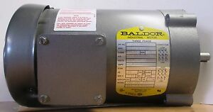 Baldor Ac Electric Motor 25 Hp 1725 Rpm 3 Phase Km3454 208 230 460 Volt