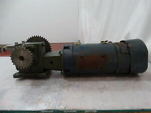 Boston Gear 22232300 Variable Speed Dc Motor 1 1 2hp 1750rpm V Arm 180