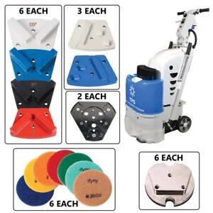 Total Polishing Systems Tpsx1kitqpno tps X1 Floor Preparation Machine Kit