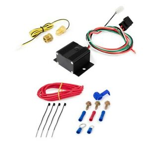 Adjustable Electric Fan Controller Kit 150 240 Thermal Switch Push In Probe