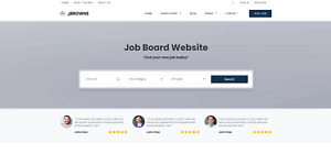 Fully Responsive Jobs Board Website