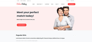 Responsive Dating Website Complete With Built in Chatroom