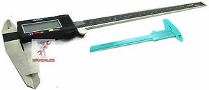 12 Digital Caliper Precision Stainless Inch metric 6 Vernier Caliper 150mm