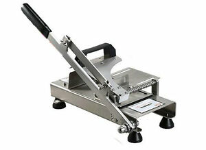 Food Grade Stainless Steel Manual Frozen Meat Slicer Handle Meat Cutting Machine