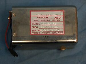 Ovenaire Oak Model Osc 92 38 10mhz Precision Crystal Oscillator Tested