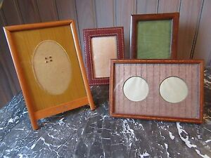 Lot Of 4 Different French Art Deco Period Wood Picture Frames