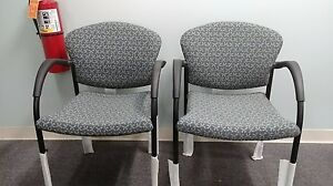 Allsteel Relate Series Stacking Guest Chairs New Out Of Box Never Used Mint