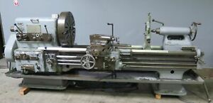 Vdf 27 X 72 Engine Lathe Heavy Duty Made In Germany 27 Swing 72 Centers