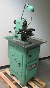 Hardinge Horizontal Mill Milling Machine Table 12 X 3 5 Made In Usa