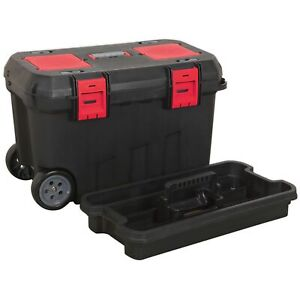 Sealey Mobile Mechanics Toolbox With Tote Tray Organizers 750mm Ap529