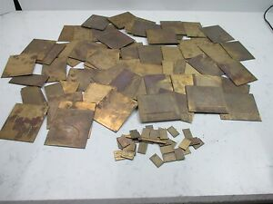 Large Lot Brass New Hermes Letters Numbers Engraving Engravograph Pantograph