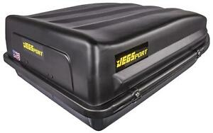 Jegs 90098 Rooftop Cargo Carrier 18 Cu Ft Waterproof Made In Usa