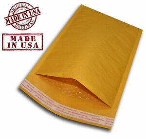 200 2 8 5x12 Kraft Bubble Padded Mailers Self Seal Envelopes 8 5 X 12