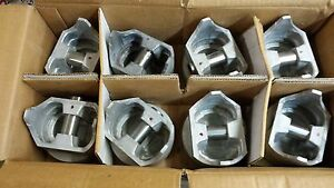 409 Chevy Truck Pistons 1962 Thru 1965 030 Over U s a Made 956p Sterling