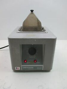 Vwr Scientific 1201 Heated Water Bath Petite Small Lab Unit Variable Temperature