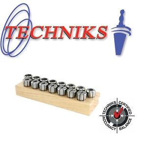 Techniks Da200 Full Set Of 9 Pc Built For Speed All New