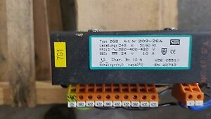 24vdc Power Supply From Weeke Bp80