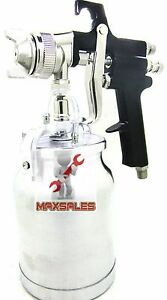 High Pressure Car Truck Furniture Air Paint Spray Gun Suction Type 1 8mm