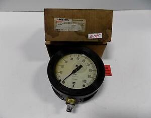 Ametek Us Gauge 0 100 Psi 33004 Nib