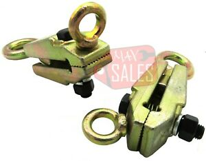 Lot Of 2 Frame Back 5ton 2 Way Self Tightening Grips Auto Body Repair Clamp Hd