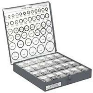 New Danco 37846 Deluxe 288pc 46 Sizes Metal Cabinet Rubber O ring Assortment Kit