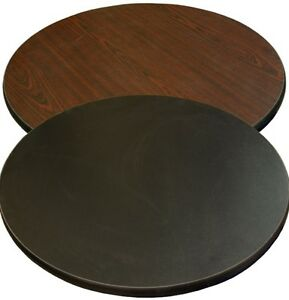 New 36 Round Table Top Mahogany Laminate Restaurant Furniture Tables