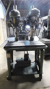 Delta Drill Press 2 Spindle 220 Volt 3 Phase 3 4 Horse Power